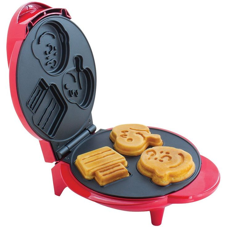 Rise & Shine! It's breakfast time! Get cooking with the Snoopy & Charlie Brown themed waffle maker. Start shopping at CollectPeanuts.com and support our site.