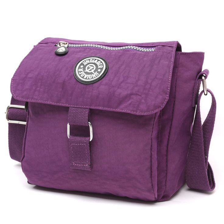 2017 Women Messenger Bags Nylon Small Shoulder Bag Ladies Bolsa Feminina Color Waterproof Travel Bag Women's Crossbody Bag Bolsa