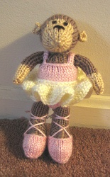 Knitting Pattern For Jelly Babies : 35 best images about Ballet theme knits on Pinterest Bunny toys, Ballerina ...