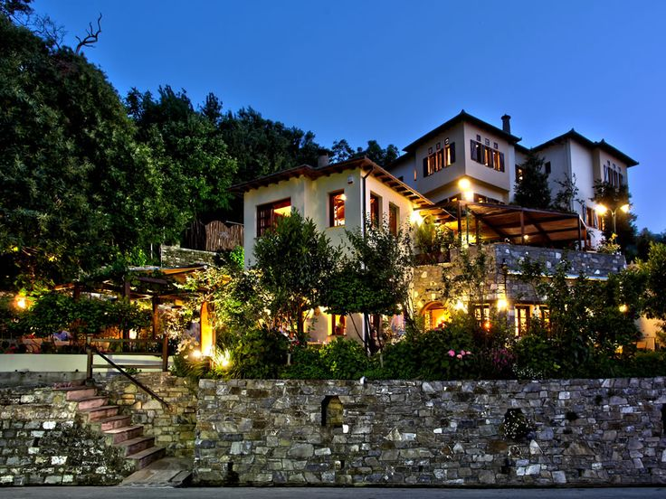 Alekas House hotel in Portaria, Pelion.