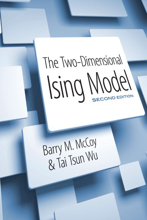 The Two-Dimensional Ising Model by Barry M. McCoy  'Of all the systems in statistical mechanics on which exact calculations have been performed,' declare the authors of this text, 'the two-dimensional Ising model is not only the most thoroughly investigated; it is also the richest and most profound.' Originally published in 1973, this is the definitive survey of the Ising model, a mathematical model of ferromagnetism in statistical mechanics. This updated edition of the classic text...