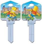 """BART SKATEBOARD"" House Key"