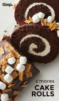 Yes, this cake roll tastes as good as it looks. We rolled chocolate cake around a marshmallow buttercream filling, and topped it all with melted chocolate, Golden Grahams™ cereal and marshmallows. It's a grown-up take on s'mores that your inner child is guaranteed to love.