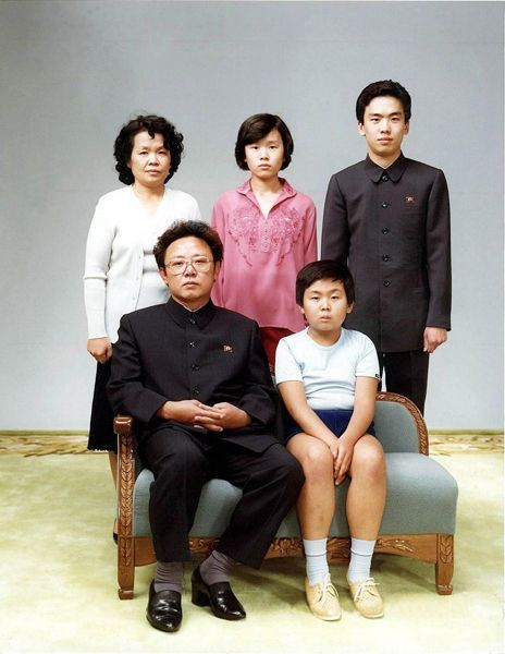 Família de kim Jong-il / Kim Jong-Il's family  19/08/1982