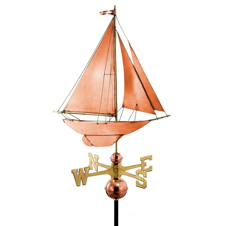 Racing Sloop Weathervane Pure by Good Directions