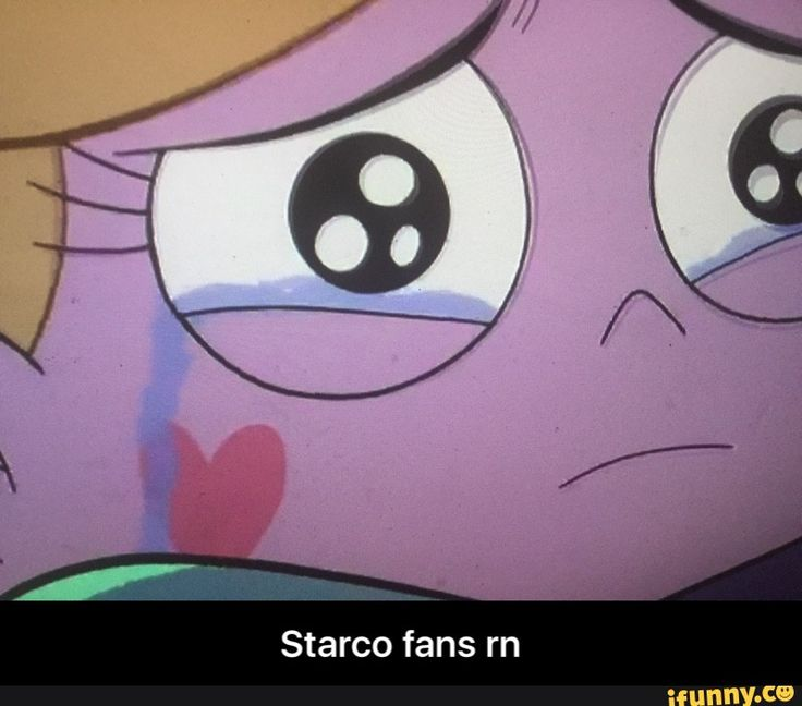 I dies in the inside because of his episode I just want starco to happen