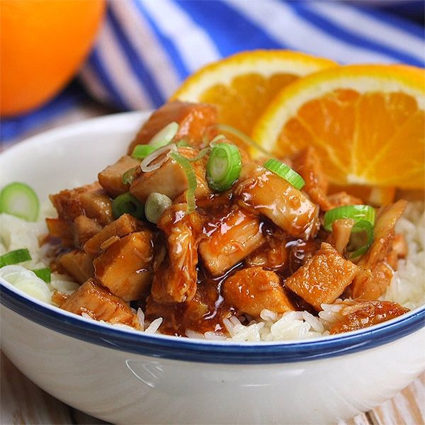 Making This Crockpot Orange Chicken Recipe Is Even Easier Than Going Out For Take Out : Worth Sharing It