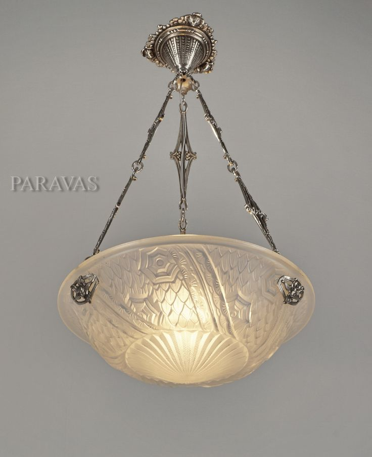 1000 best lamps images on pinterest chandeliers chandelier and schneider 1930 french art deco chandelier in nickel plated solid brass and moulded pressed frosted art deco chandelierfrosted glassceiling lightshanging aloadofball Image collections