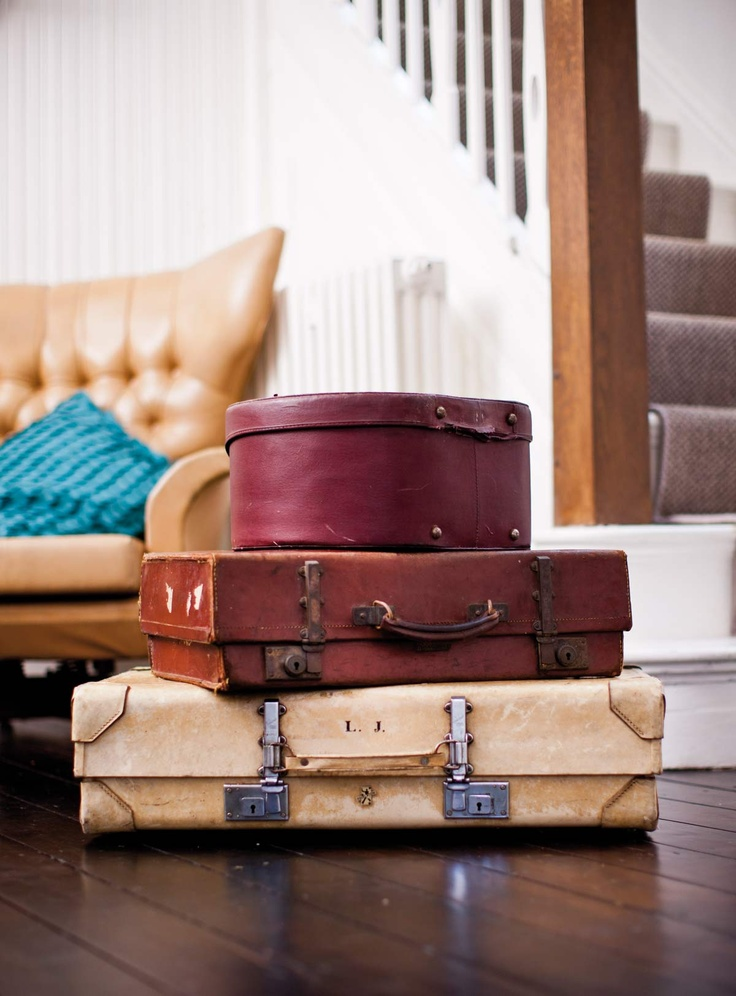 Vintage Antler Luggage