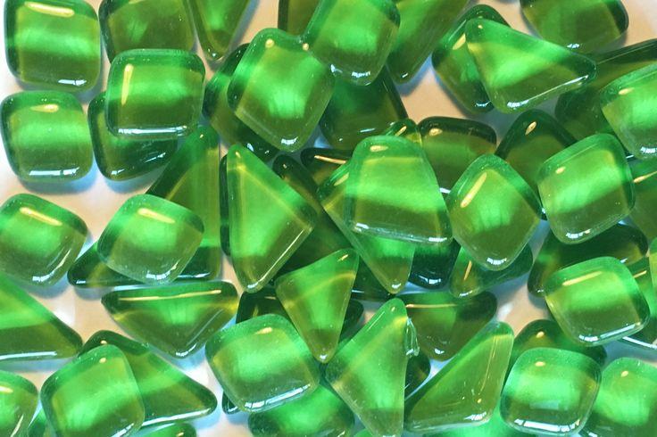 Glassteen,Mozaïek, groen