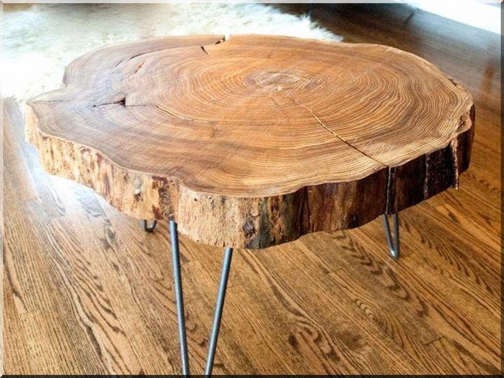 Asztal, natúr fa