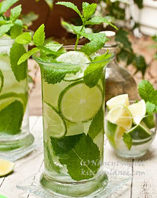 Nancy Baggett's Kitchenlane: The Secret to Memorable Mojitos--Good Rum, Zesty Mint, Fresh Limes
