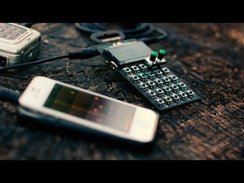 Live Electro Jam in the wild feat. #PO12 Rhythm + #iPhone