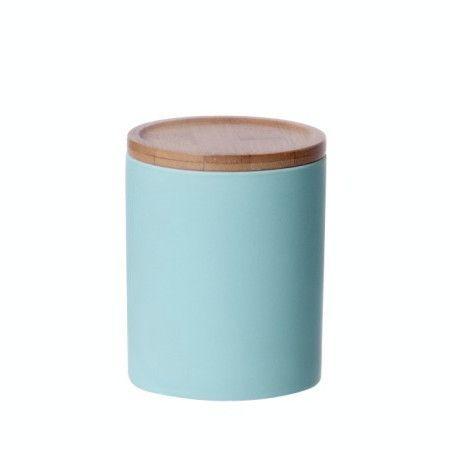 LET LIV - Medium Kitchen Canister in Mint