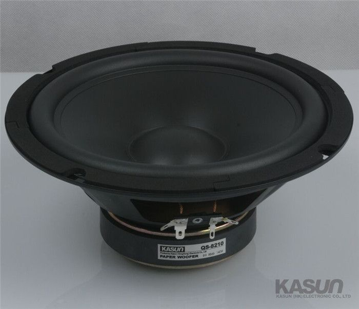 1pc KASUN HI-FIseries woofer loudSpeaker 8 inch QS-8210 woofer speaker 140W 8 ohm for HIFI amplifier WOOFER speaker