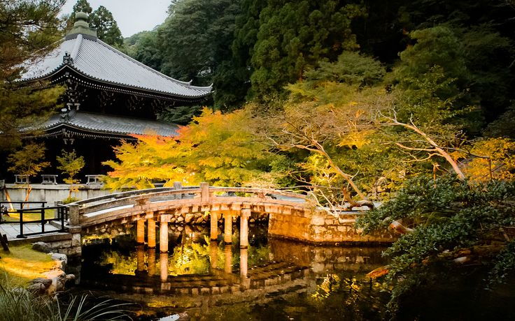 Kyoto Photo: Evening Light Up At Chion-in Temple