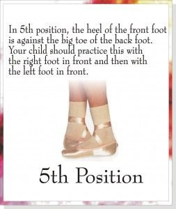 Positions of the Feet | Mililani Ballet School
