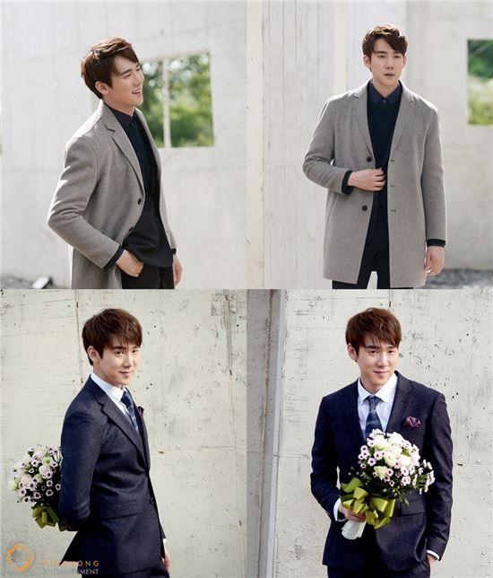 Yoo Yeon Seok gets romantic while posing in suits | Koogle TV