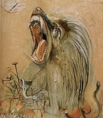Brett Whiteley - Baboon This has always been one of fav's from this genius.....