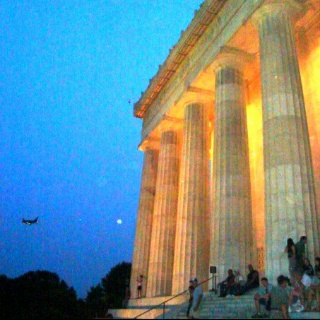 Lincoln Memorial, Washington DC - my favorite place to visit in WDC