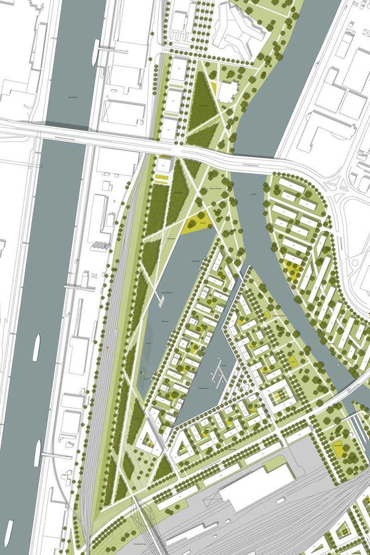 Masterplan Neckarvorstadt  STEIDLE ARCHITEKTEN , T17 LANDSCHAFTSARCHITEKTEN