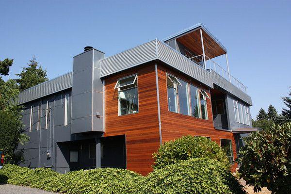 Best Hardi Panel Corrugated Metal On The Balcony Fascia 400 x 300