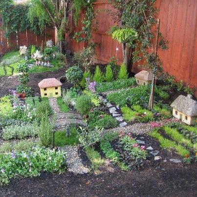 88 best Landscape design for Fairy Gardens images on Pinterest