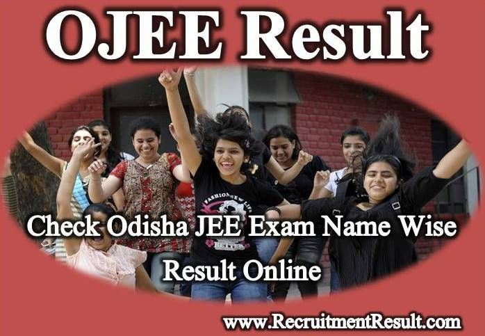 After successful organization of exam, Odisha Joint Entrance Examination Committee will release OJEE Online Result in first week of June 2018.
