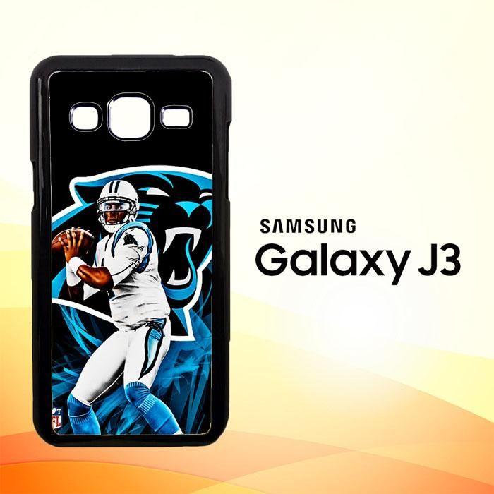 Cam Newton Panthers X4912 Samsung Galaxy J3 Edition 2016 SM-J310 Case