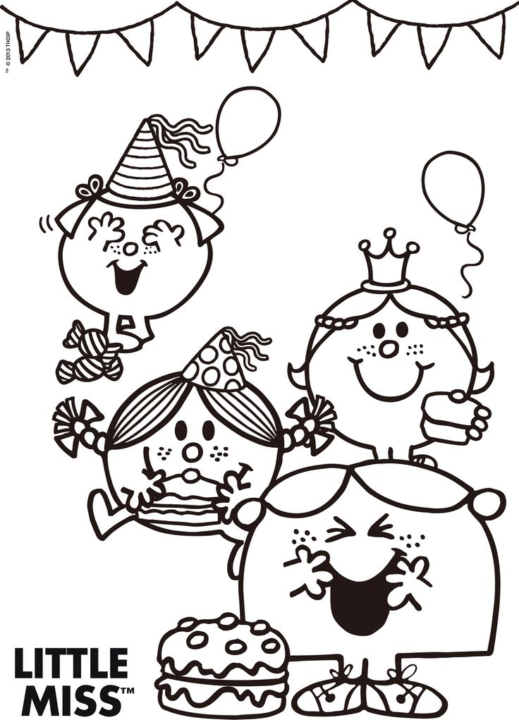 little miss sunshine coloring pages - photo#13