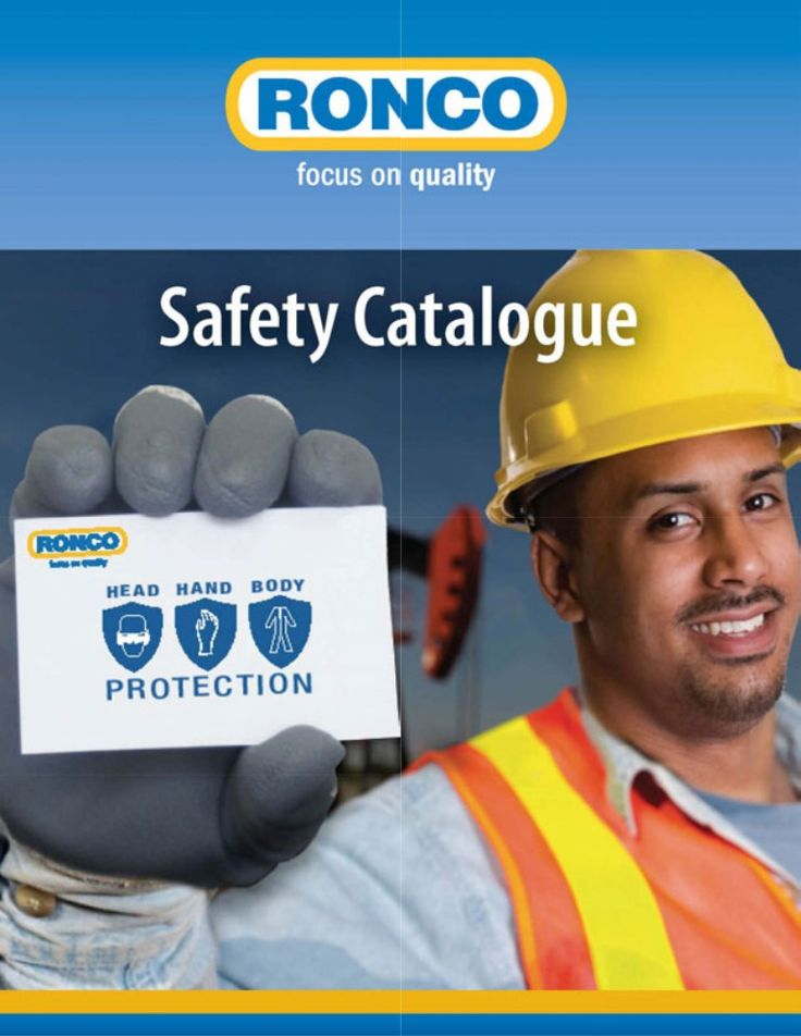 ronco-safety-catalogue by Ronco Canada via Slideshare