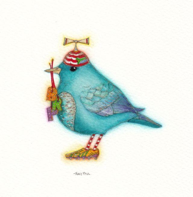 Bluebird for Benjamin's Birth