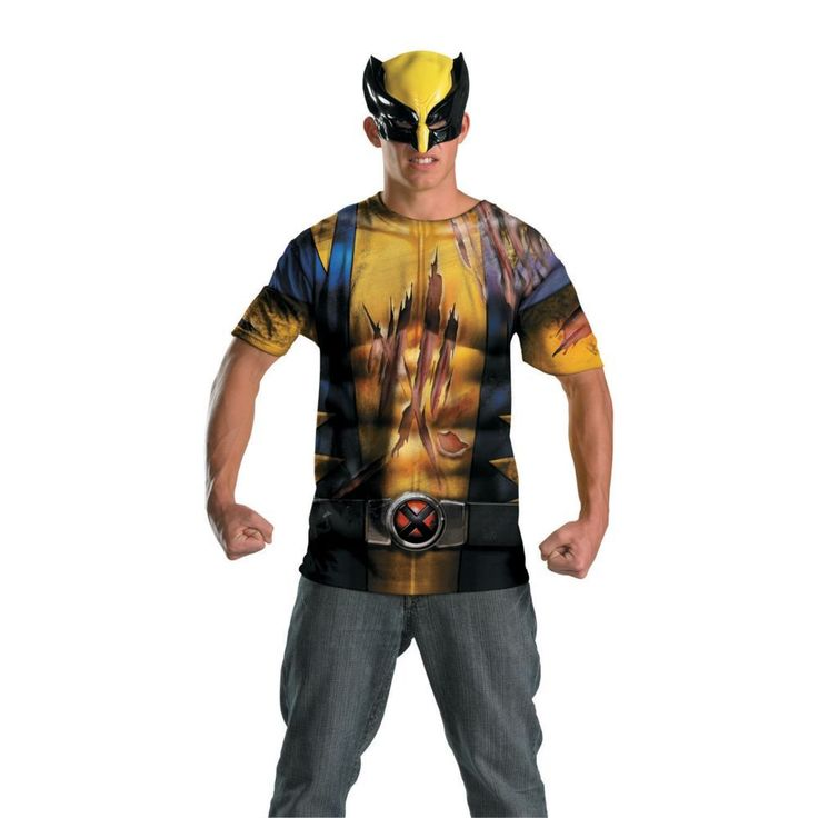 Alternative Battle Scars Wolverine Halloween Costume for Men - Extra Large