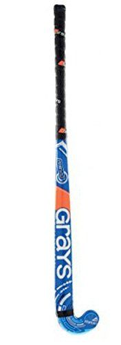GRAYS Revo Junior Hockey Stick, Blue, 35.5in. GRAYS Revo Junior Hockey Stick, Blue, 35.5in. 35.5 inch. Blue.