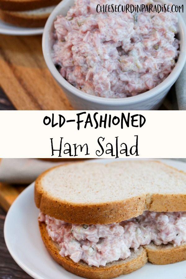 Vintage Ham Salad Recipe