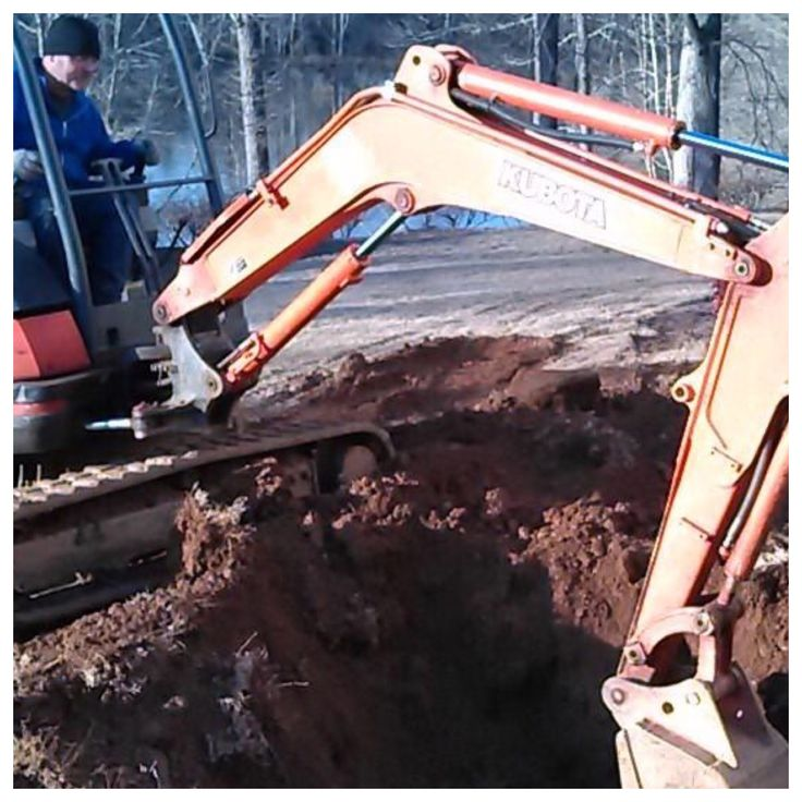 On this on-site Milton, GA repair, Action Septic Tank Service excavated this septic tank. Call 770-922-1434 and visit actionseptictankservice.com.