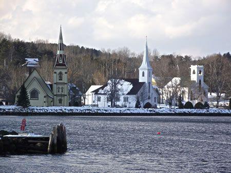 Mahone Bay, Nova Scotia: Nova Scotia, Three Church, Mahone Bays