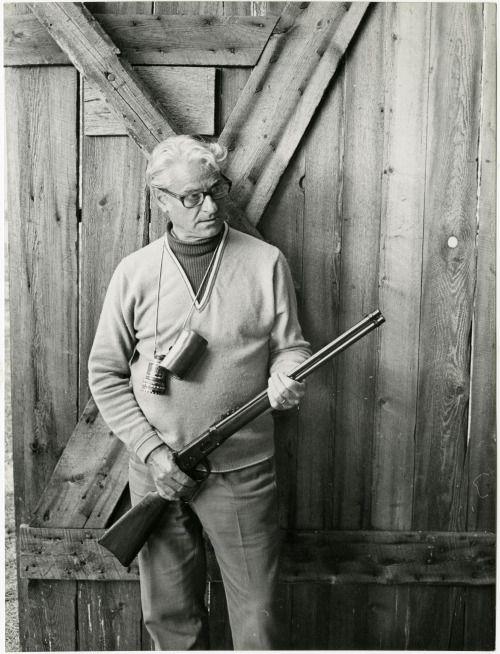 """René Clément, March 18, 1913 - March 17, 1996.  here on the set of """"La Course du lièvre à travers les champs  """" 1972"""