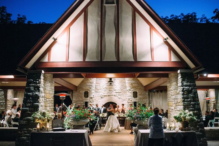 Pavilion reception at the Redfield Estate
