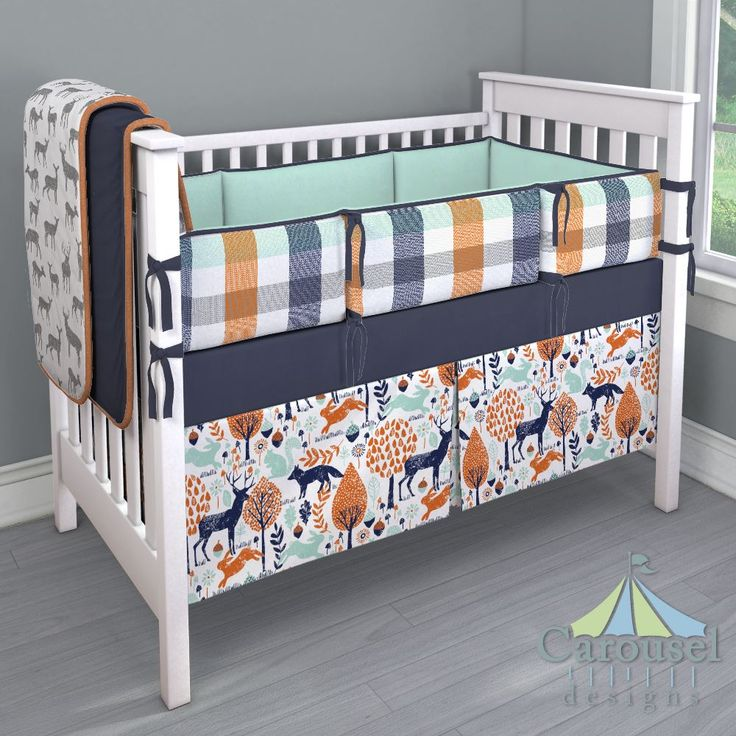 30 Best Navy And Orange Bedroom Images On Pinterest: 71 Best Boy Crib Bedding Images On Pinterest