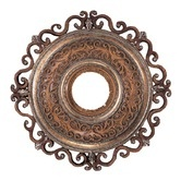 """Found it at Wayfair - Napoli 22"""" Ceiling Medallion in Tuscan Patina"""