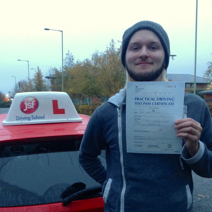 """Pete helped enormously to boost my confidence in driving. Before going with JSF Driving School I was completely nervous behind the wheel. However after spending time with Pete I had everything explained to me in full. if you want to learn to drive safely & confidently then JSF Pete is your man."" Test success for Kyle Trickey who passed his driving test at Gloucester Test Centre on 19th November, 2016. Well done from the JSF Driving team!"