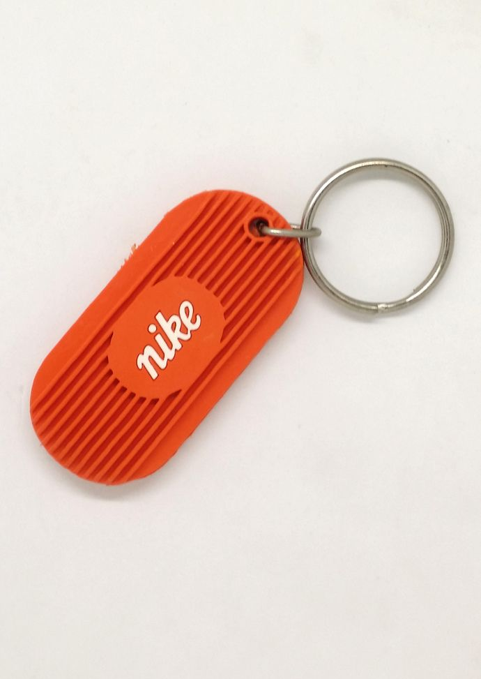 70s Nike Rubber Keychain Key Ring Rare Vintage In 2020 Rubber Keychain Keychain Key Rings