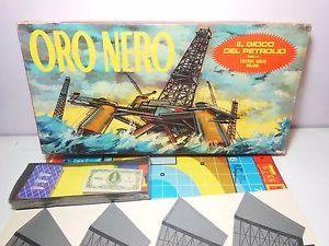 ORO-NERO-Editrice-Giochi-Gioco-da-Tavolo-Epoca-Vintage-Collezione