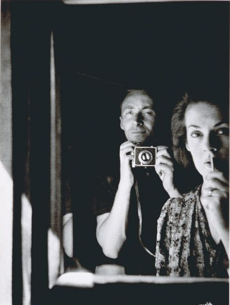 "Albert Tucker: ""In the mirror: self portrait with Joy Hester"" (1939) Collection of the National Portrait Gallery, Australia."