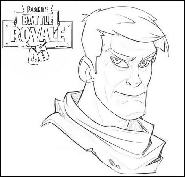 Read Morejosh Bruce Fortnite Coloring Pages In 2020 Bear