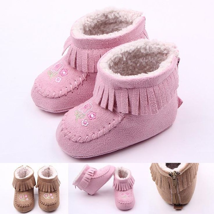 New Design Full Cotton Carton Chrismas Baby Shoes Baby Winter Boots Boys Girls Shoes The First Walker Shoes Bx154 From Gege1988, $47.13 | Dhgate.Com