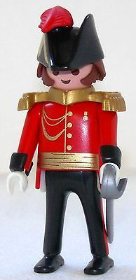 ROYAL GUARD GENERAL Playmobil zu Rotrock Soldat 5581 4577 Garde Top Custom 1637