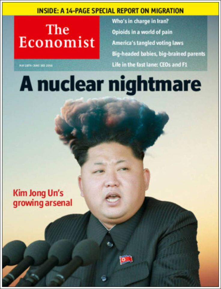 Image result for kim jong on magazine cover