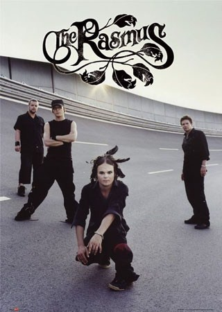 The Rasmus. Gah, I love Lauri's feathers!